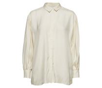 Iw50 04 Hutton Shirt Bluse Langärmlig Creme INWEAR
