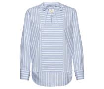 G1. Tux Shirt With French Cuff Langärmliges Hemd Blau