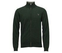 Superfine Lambswool Zip Cardiga