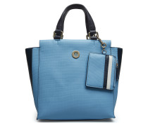 Effortless Saffiano Bags Top Handle Bags Blau