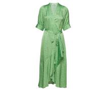 Kweller Kleid Knielang Grün RODEBJER