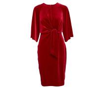 Vonda Tie_front Dress Kleid Knielang Rot INWEAR