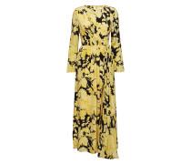 Brittany, 517 Hortensia Silk Maxikleid Partykleid Gelb