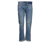 Heter Straight Jeans Hose Mit Geradem Bein Blau REPLAY