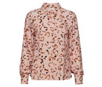 Poslaura Shirt Bluse Langärmlig Pink