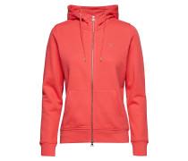 Tonal Shield Full Zip Hoodie Sweatshirts & Hoodies Hoodies Rot