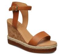 San Diego Wedge Sandal Sandale Mit Absatz Espadrilles Braun GANT