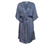 Dress Kleid Knielang Blau