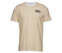 Troy Stripe Tshirt Gelb WON HUNDRED