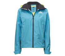 W Hp Fjord Jacket Sommerjacke Dünne Jacke Blau HELLY HANSEN