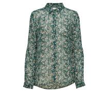 Hayden Shirt Bluse Langärmlig Grün