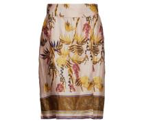 Monique Skirt Knielanges Kleid Gelb CREAM