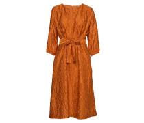 Hudson Dress Kleid Knielang Orange INWEAR