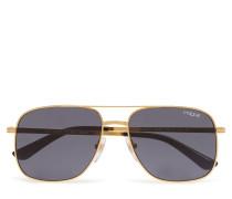 Women'S Sunglasses Pilotensonnenbrille Sonnenbrille Schwarz