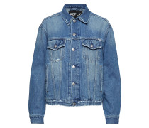 Jacket Jeansjacke Denimjacke Blau REPLAY