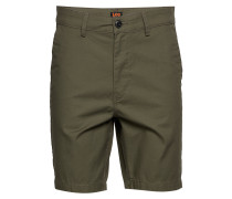 Slim Chino Short Bermudashorts Shorts Grün LEE JEANS