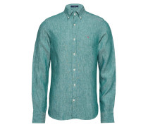 The Leinenhemd Slim Bd Hemd Business Blau GANT