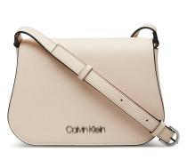 Slide Saddle Bag Bags Small Shoulder Bags/crossbody Bags Beige CALVIN KLEIN