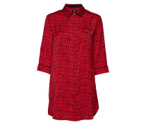 Dkny Only In Dkny Boyfriend Bluse Nachthemd Rot