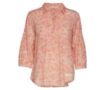 Flowering Spirit Shirt Bluse Langärmlig Pink