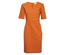 Zella Dress Kleid Knielang Orange INWEAR