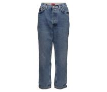 Hybrid Denim Sweat Pant Boyfriend-Jeans Blau HILFIGER COLLECTION