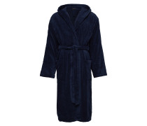 Bath Robe Bademantel Morgenmantel Blau