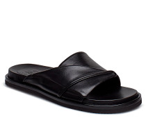 Sandals 8655 Flache Sandalen Schwarz