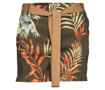 Penton Printed Shorts Shorts Flowy Shorts/Casual Shorts Bunt/gemustert
