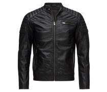 Slhjack Leather Jkt W Noos