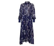 Hollis Dress Kleid Knielang Blau INWEAR
