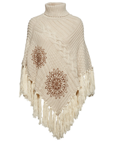 Knitted Poncho Soft