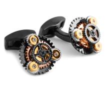 Tateossian Gear Rotondo Cufflinks