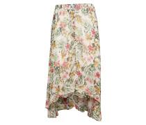 Elodie Skirt Knielanges Kleid Bunt/gemustert CREAM