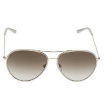 To0155 Pilotensonnenbrille Sonnenbrille Gold