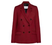 Wool Twill Db Blazer Blazer Jackett Rot CALVIN KLEIN