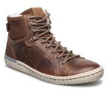 Alec Mid Fur Hohe Sneaker Braun