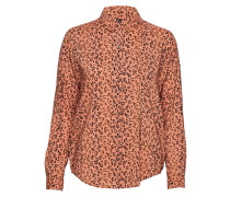Oversized Boxy Fit Cotton Viscose Shirt In Various Prints