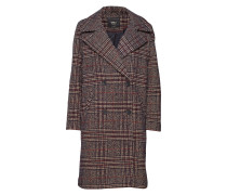 Onladriana Oversized Check Wool Coat Otw