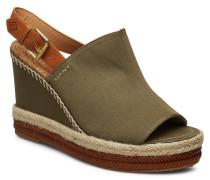 San Diego Wedge Sandal Sandale Mit Absatz Espadrilles Grün GANT