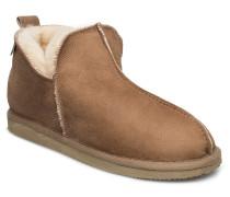 Annie Shoes Slippers Warm Lined Beige SHEPHERD
