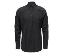 Langarm Hemd Hemd Business Schwarz SIGNAL