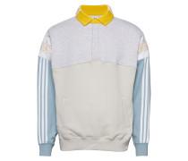 Rugby Sweat Langärmliger Pullover Weiß ADIDAS ORIGINALS