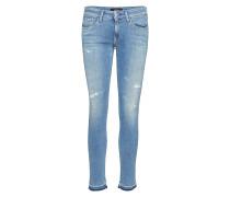 Luz Slim Jeans Blau