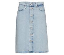 A Line Midi Button Skirt Sprin