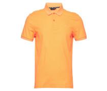 Troy Clean Pique Polohemd Kurzarm-Shirt Orange J. LINDEBERG