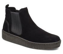 Ankle Boots Stiefeletten Chelsea Boot Schwarz