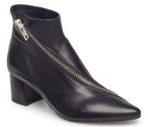 Boots Stiefeletten Mit Absatz Schwarz BILLI BI