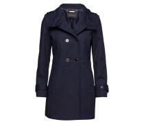 Coats Woven Trenchcoat Mantel Blau ESPRIT COLLECTION