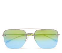 D-Frame Wayfarer Sonnenbrille Grün PRADA SPORT SUNGLASSES